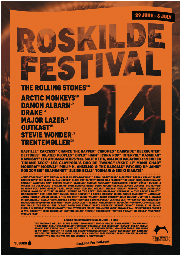 Roskilde-2014-line-up